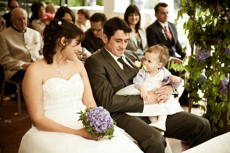 Beispiel: Entspannt in den Bund der Ehe treten, Foto: Family Business.