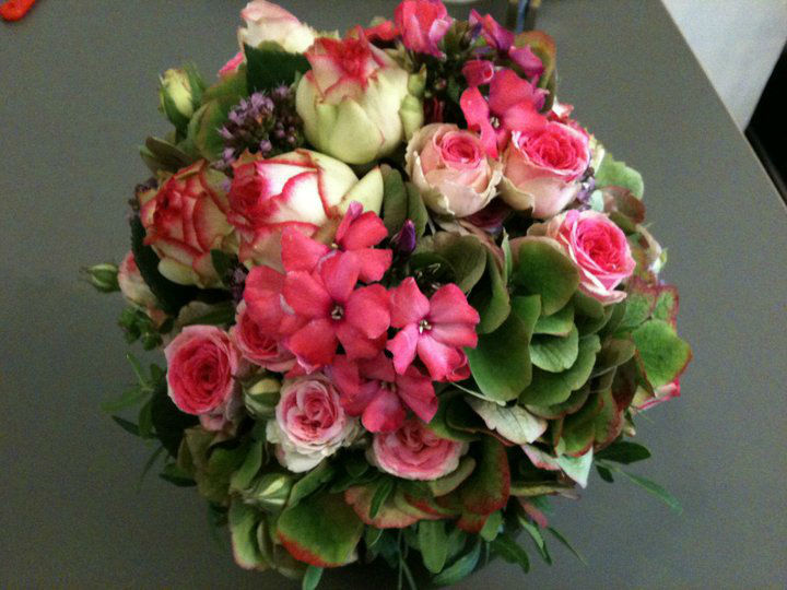 Beispiel: Brautstrauß, Foto: Blumen-Boutique-Wingen.