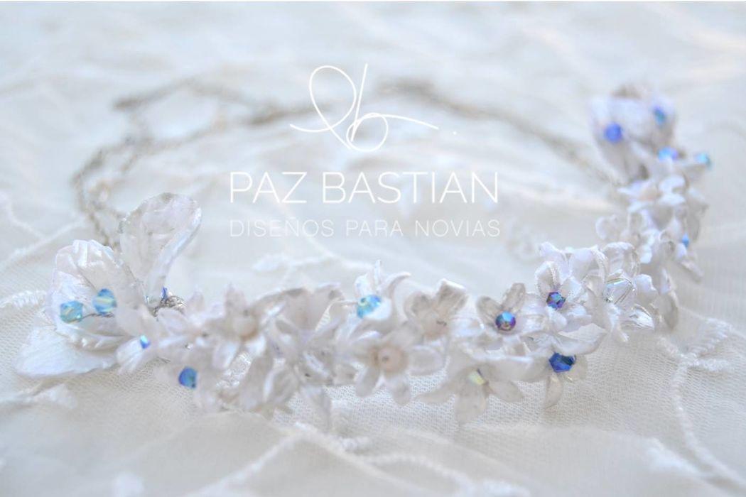 Jazmín y cristales azulez