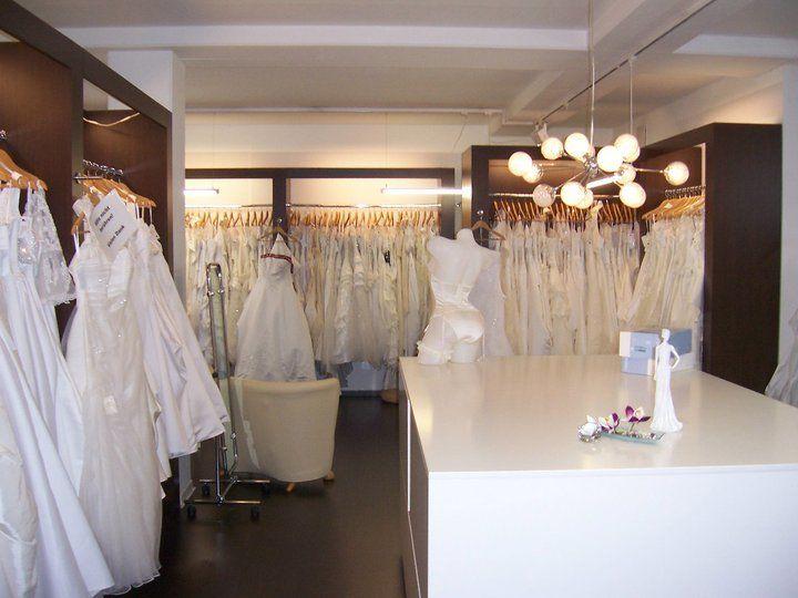 Beispiel: Ladengeschäft innen, Foto: Brautmoden Wiese.