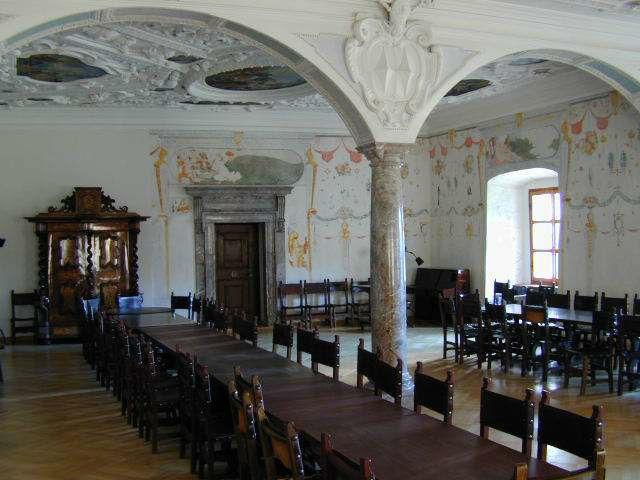 Beispiel: Räumlichkeiten, Foto: Burg Strechau.