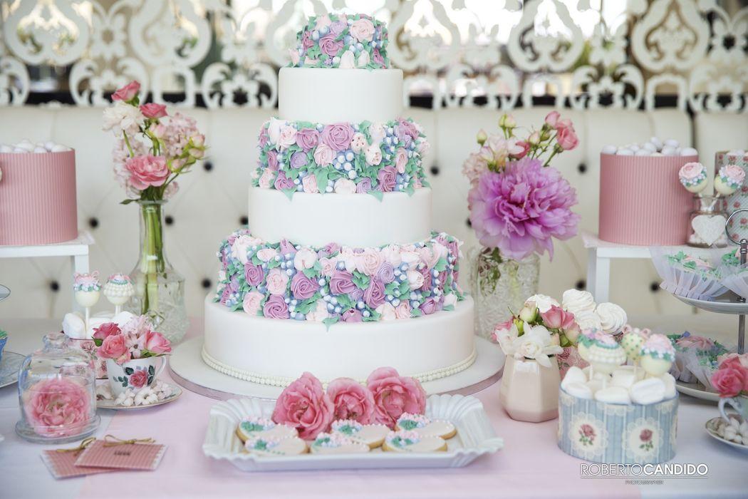 Kairos Events - sweet table dai toni pastello