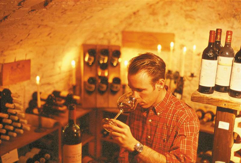 Beispiel: Erlesene Weine, Foto: Landhaus Diedert.