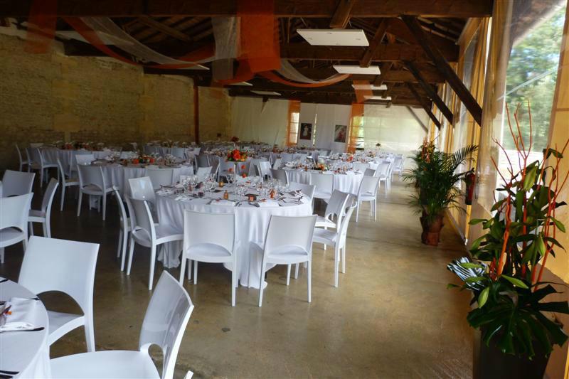 Salle de réception pour événements