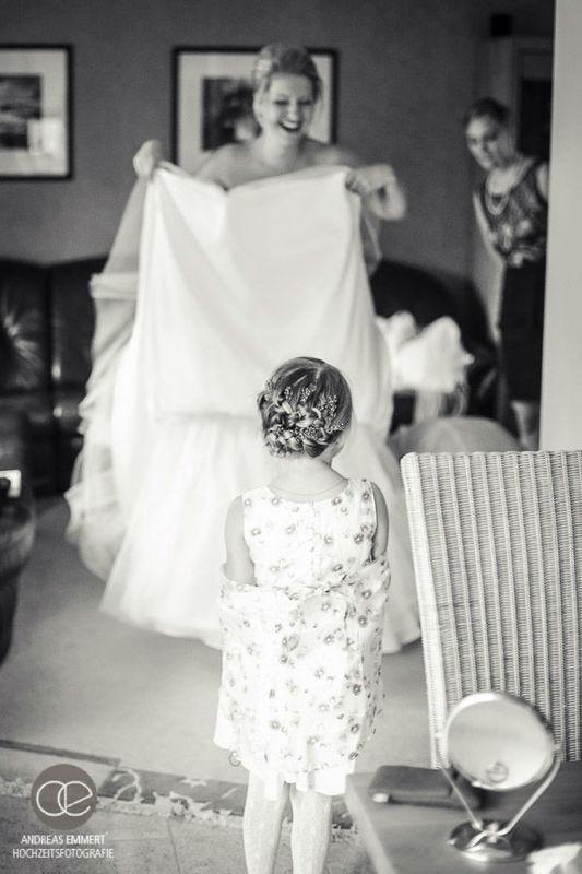 Beispiel: Fotos von den Vorbereitungen, Foto: Hochzeitsfotografie Andreas Emmert.
