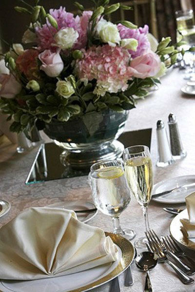 Beispiel: Tischdekoration, Foto: AFLORA – Blumenfachgeschäft.