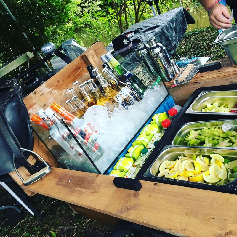cocktailcatering - trouwfeest -
