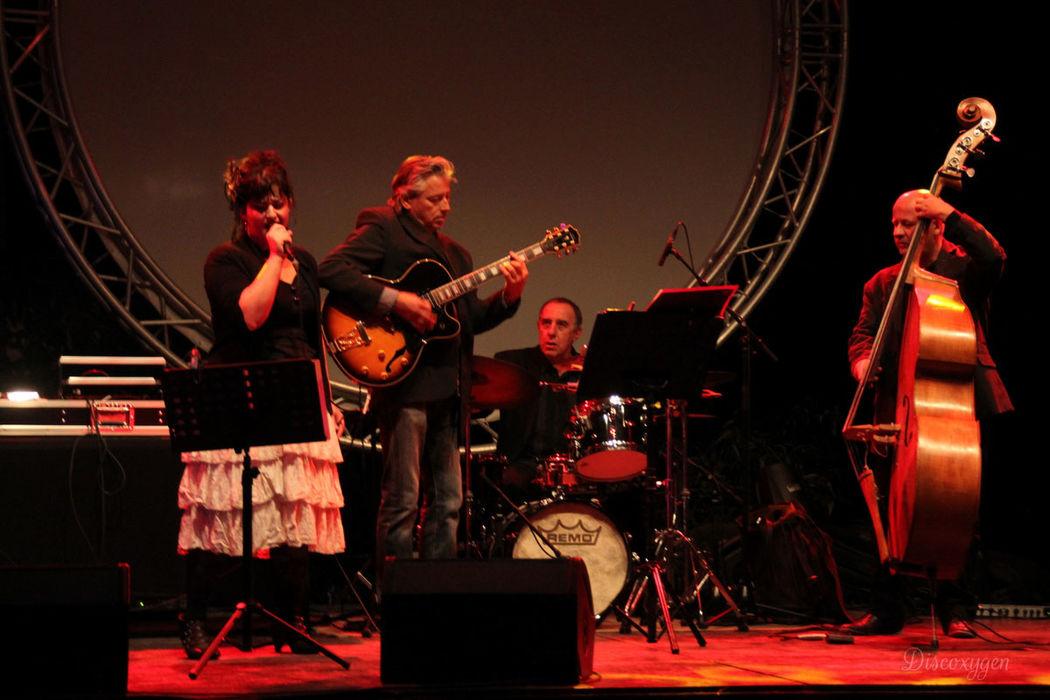 Concert lors de l'inauguration de l'espace Modularium à Albi (traiteur Steph and Co).
