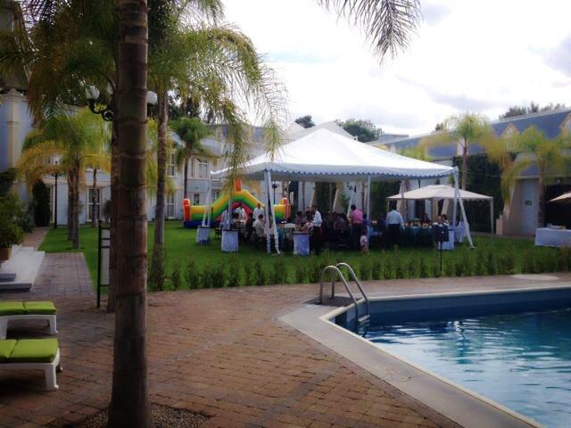 Salones y Jardines, Gran Hotel Alameda, Aguascalientes,Ags.