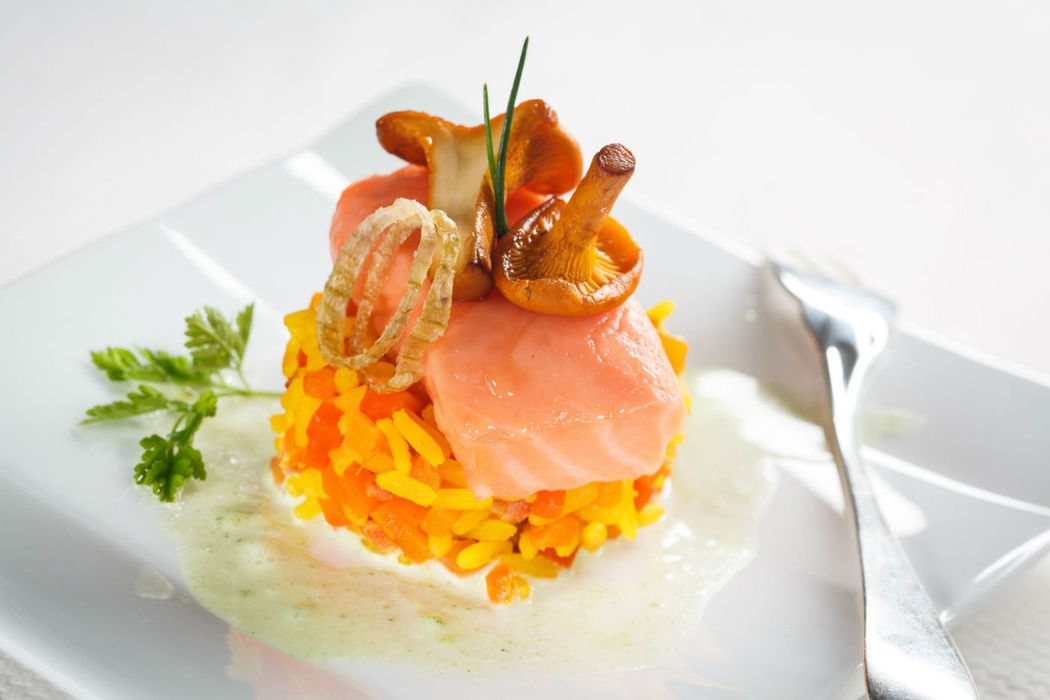 Beispiel: Kulinarische Verführung, Foto: Dallmayr Partyservice.