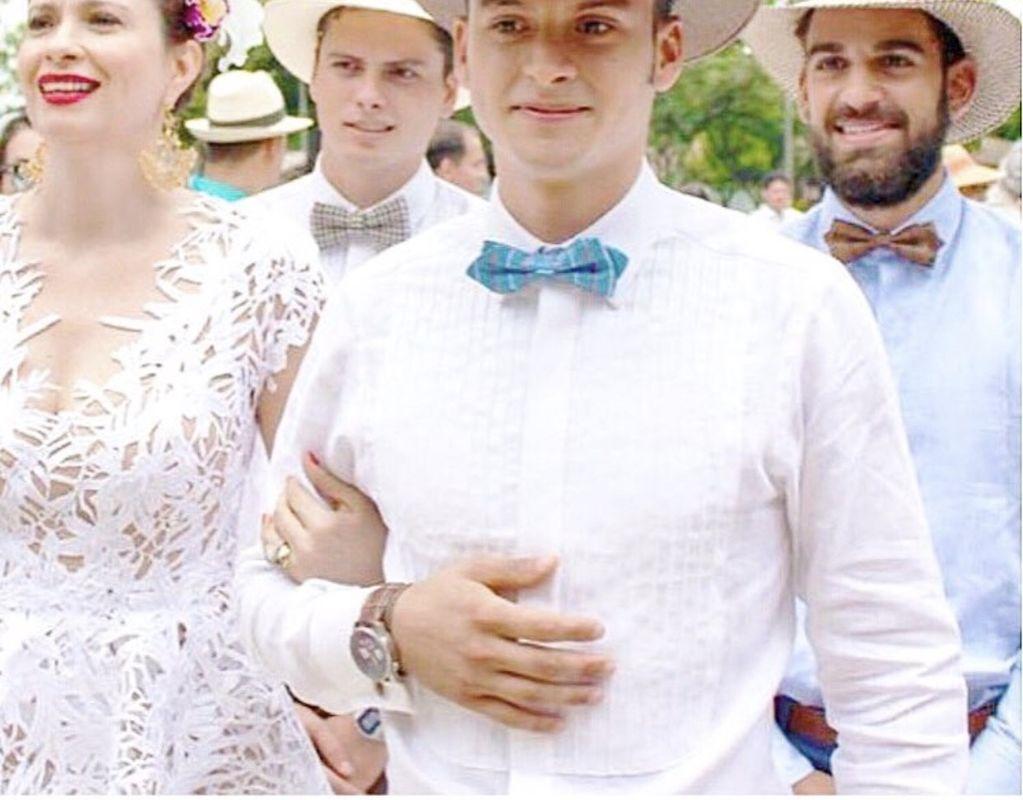 Matrimonio en Cali, hermanos de la novia