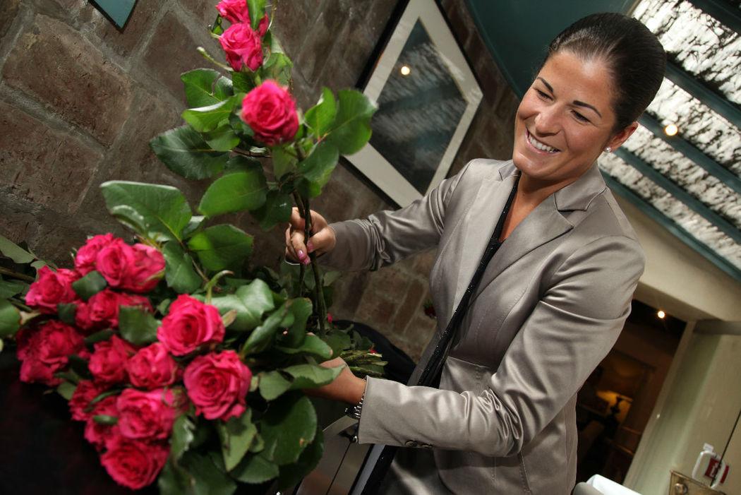 Beispiel: Linda Hollnbuchner, Foto: Perfekte Hochzeit.