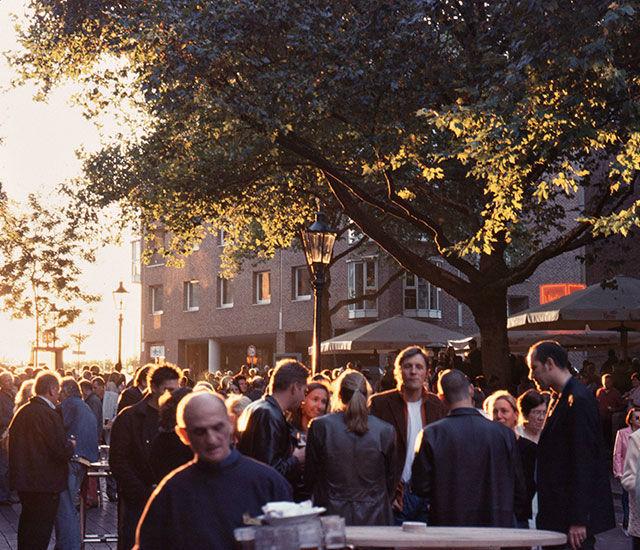 Beispiel: Außenbereich - Forum, Foto: Uerige Obergarige Hausbrauerei.