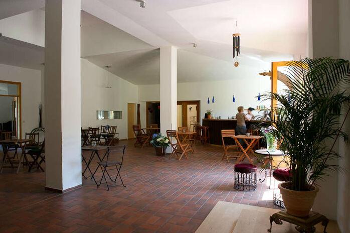 Beispiel: Räumlichkeiten, Foto: Seminarhaus am Schönberg.