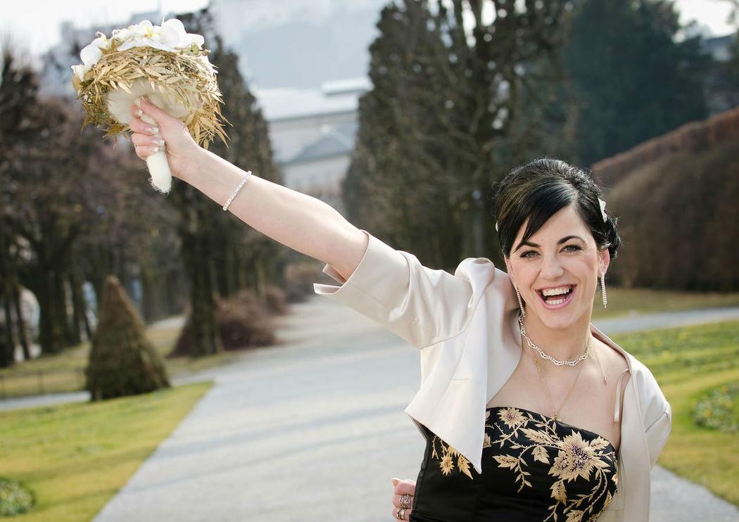 Beispiel: Portrait der Braut, Foto: Foto Sulzer.