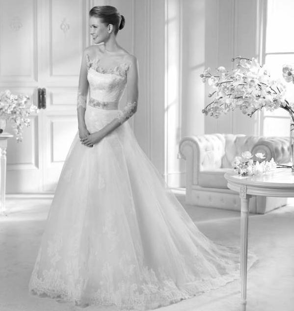 Beispiel: Märchenhaftes Brautkleid, Foto: Brautstudio Sposa Favola.