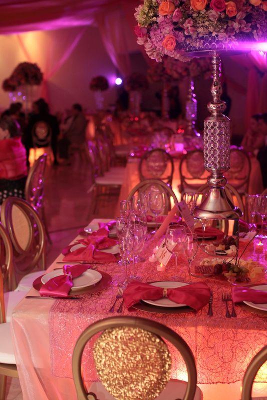 Detalles con Ángel Eventos   (Variedad de centros de mesa en renta en color plata y dorado)