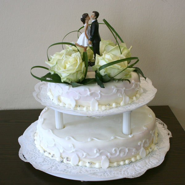 Beispiel: Wunderschöne Hochzeitstorten, Foto: conditoria.