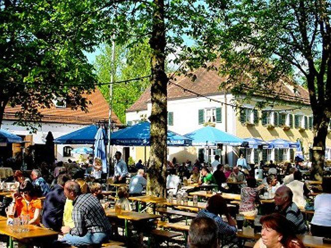 Beispiel: Biergarten, Foto: Neue Fasanerie.