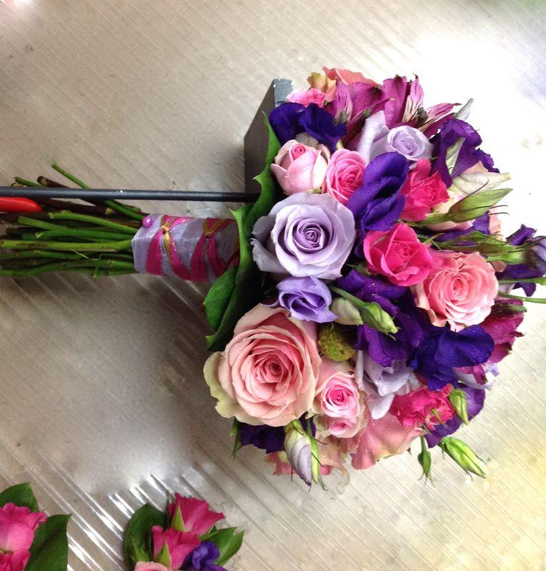 Bouquet lilas
