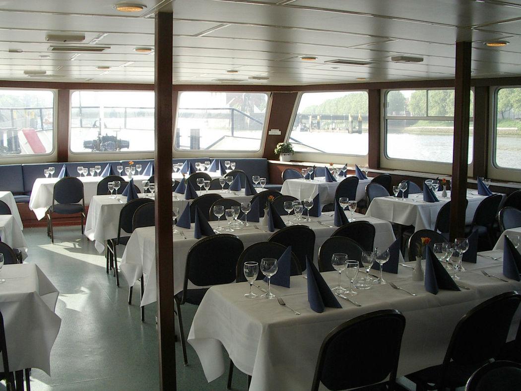 Beispiel: Schiff Hanseat - Bestuhlung, Foto: Hal över.