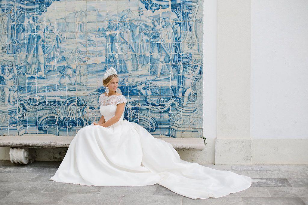 Свадьба в Португалии. Фотосессия совместно с Rosa Clara