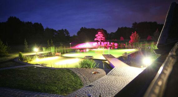 Beispiel: Hof bei Nacht, Foto: Milanhof.