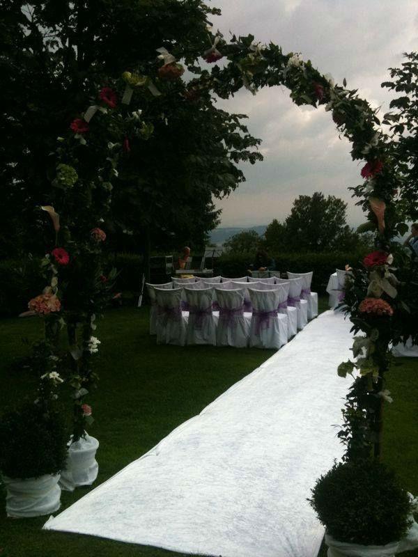 Beispiel: Hochzeitslocation, Foto: Sag doch ja.