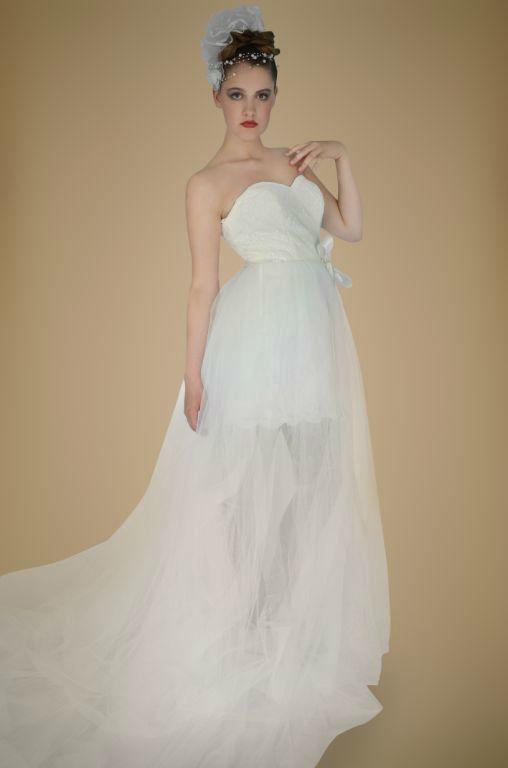 Beispiel: Brautkleid, Foto: Brautmode Rohland.