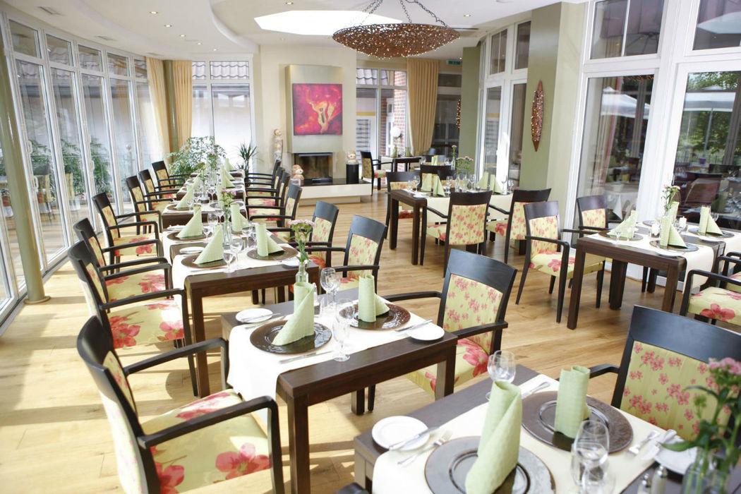 Beispiel: Wintergarten, Foto: Hotel Robben.