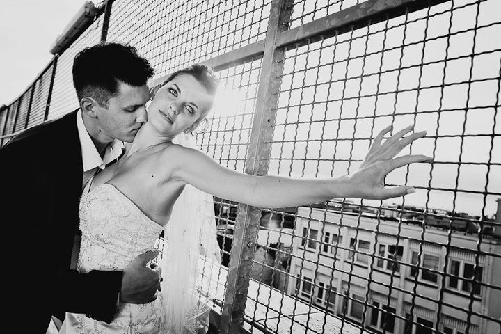 Beispiel: romantische Hochzeitsfotos, Foto: Sergej Falk.