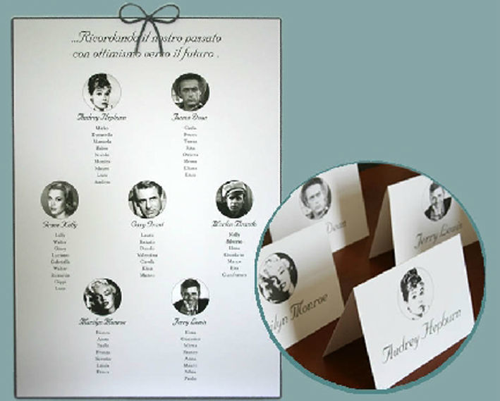 Tableau de Marriage con cordino