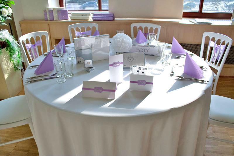 Beispiel: Hochzeitsgedeck, Foto: Hochzeitshaus Berlin Hochzeitsplanung,