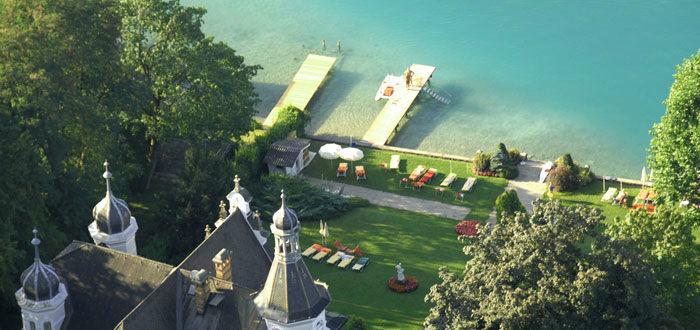 Beispiel: Park am See, Foto: Parkvilla Wörth.