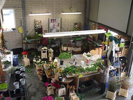 Beispiel: Blumenlager, Foto: Beko Blumen.