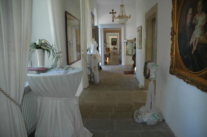 Beispiel: Empfang, Foto: Schloss Niederweis.