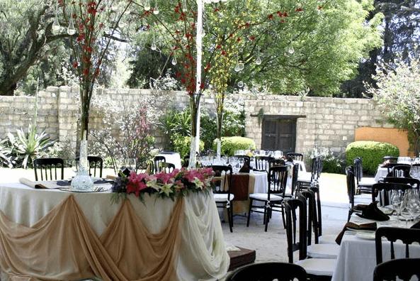 Montaje elegante y distintivo para tu boda - Foto Paladares