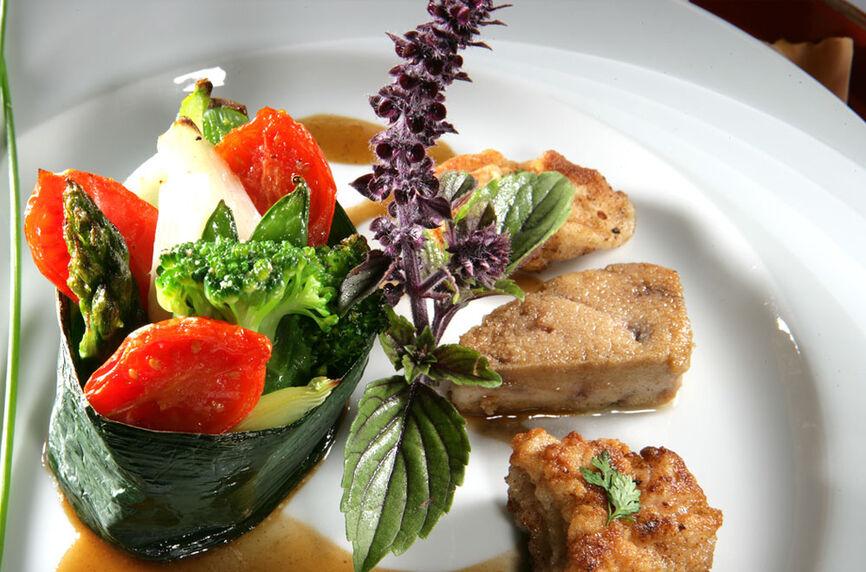 Beispiel: Cuisine du bonheur, Foto: Rheinhotel Fischerzunft.