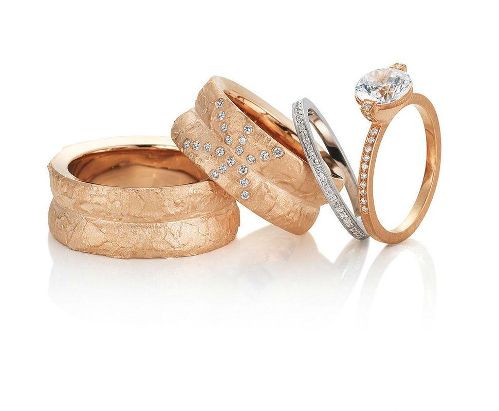 Beispiel: Die perfekten Ringe für einen perfekten Tag, Foto: Arauco.