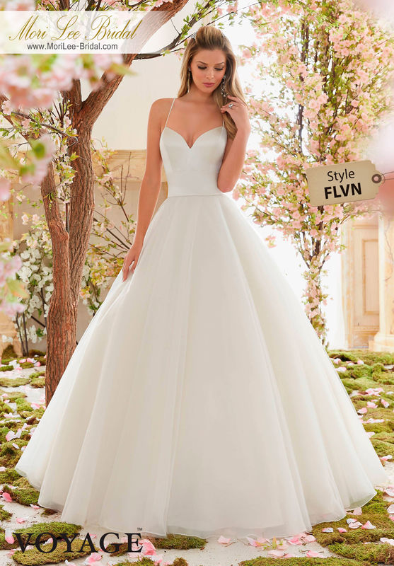 Dress Style FLVN  DUCHESS SATIN AND TULLE BALL GOWN  Colors Available: White, Ivory, Light Gold