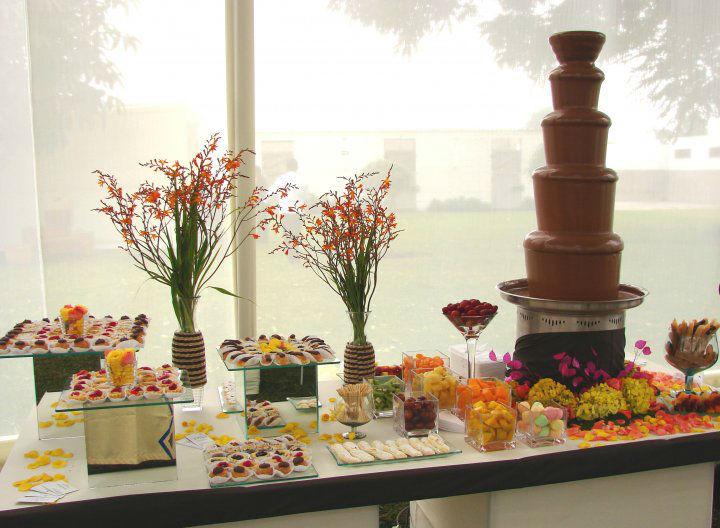 Cascadas de chocolate