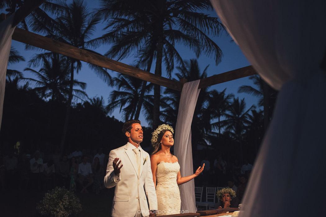 Casamento em Arraial D'ajuda - Bahia  Arruda e Poubel Fotografia
