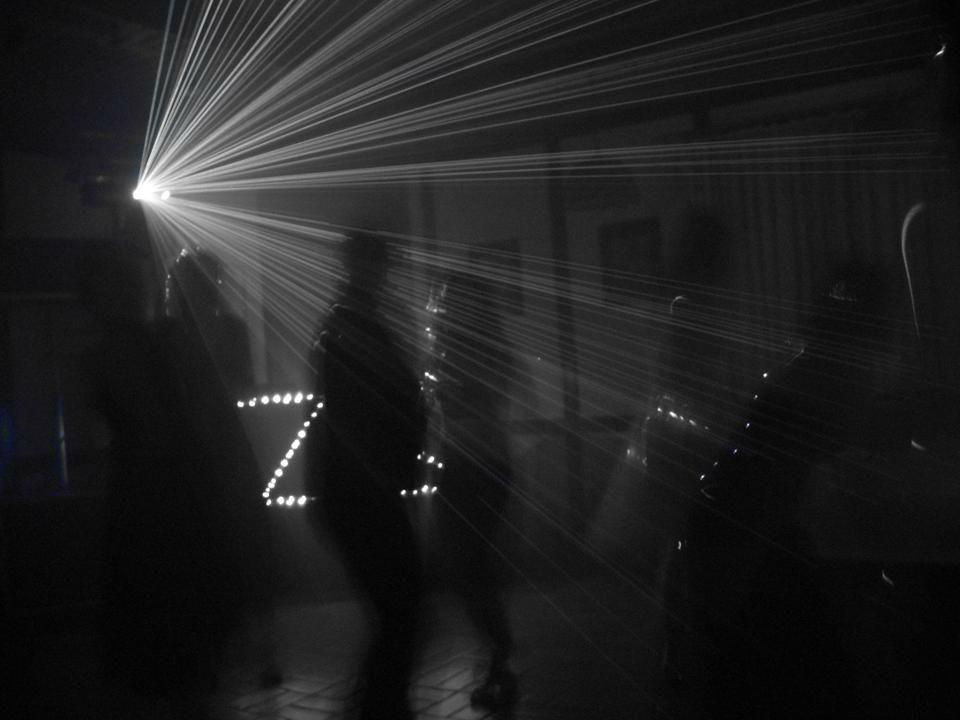 Beispiel: Lichtanlage, Foto: DJ Lars.