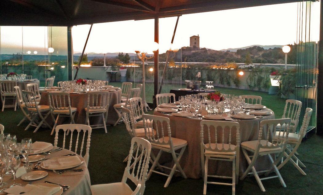 Cena en Terraza Mirador
