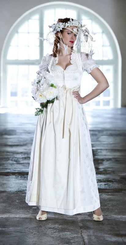 Beispiel: Hochzeitsdirndl, Foto: Hanna Trachten.