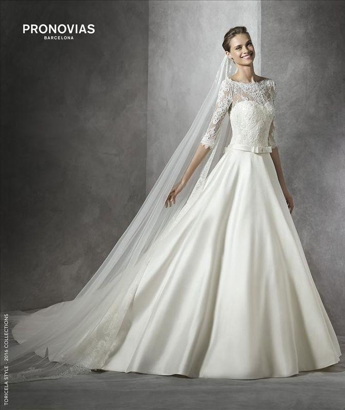 Robes de mariée Pronovias par Déclaration Mariage à Sceaux près de Paris