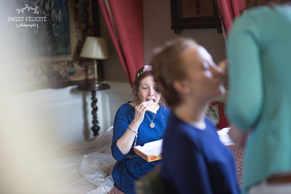 Sweet Félicité Photographie Pendant les préparatifs de la mariée / During the bride is getting ready/ Bourgogne