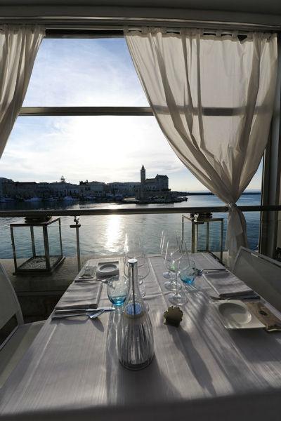Vista sul mare di Trani - Le Lampare al Fortino