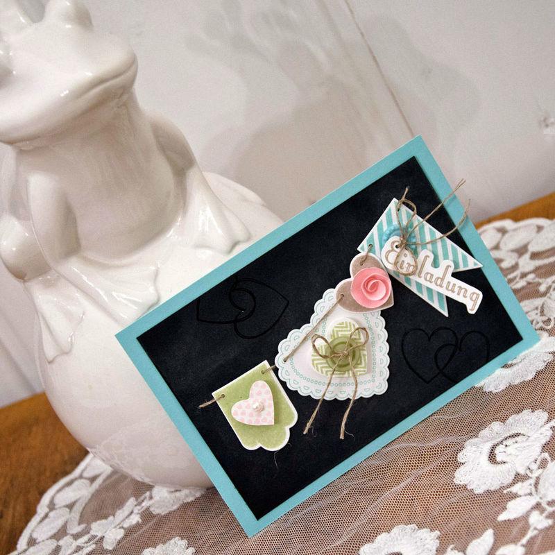 Beispiel: Hochzeitseinladung, Foto: Wertschatz.