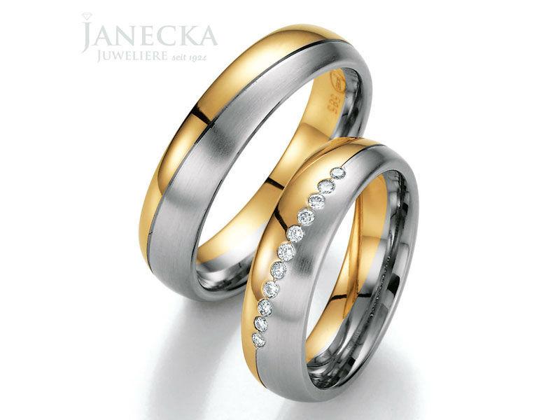 Beispiel: Finden Sie Ihre persönlichen Trauringe, Foto: Juweliere Janecka.